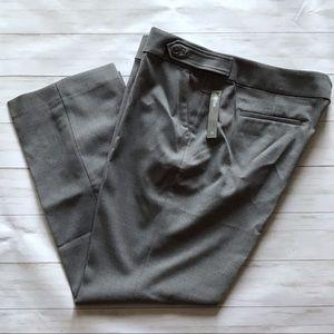 NWT LOFT Plus Gray Marisa Trouser Pants Size 20